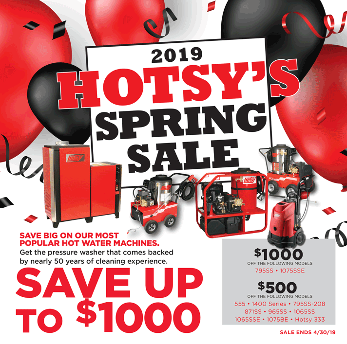 Hotsy Spring Promo